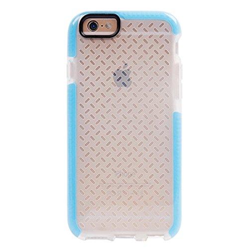 Phone case & Hülle Für iPhone 6 Plus / 6s Plus, Reiskorn Pattern TPU Schutzhülle ( Color : Blue ) Blue