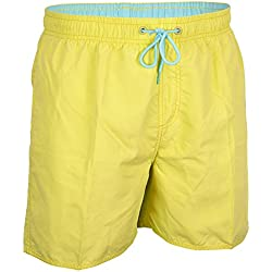 Waimea Herren 55za Senior Schwimmen kurz XXL Yellow/Light Blue