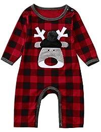Riou Weihnachten Set Baby Kleidung Pullover Pyjama Outfits Set Familie Weihnachten Neugeborenen Baby Mädchen Jungen... preisvergleich bei kinderzimmerdekopreise.eu
