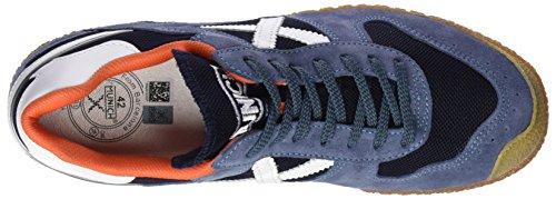 Munich Goal, Sneaker Basse Uomo Blu