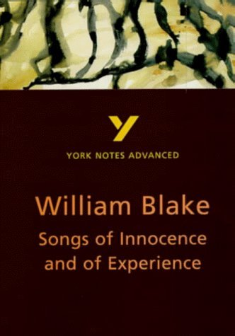 """York Notes Advanced on """"Songs of Innocence and of Experience"""" by William Blake (York Notes Advanced S.) by Punter, David (April 23, 1998) Paperback"""