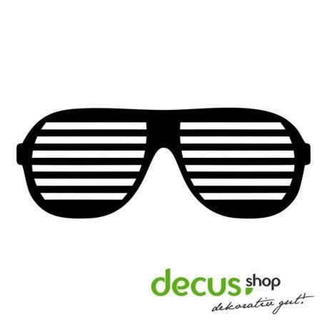 Drift Brille L 1050 // Sticker OEM JDM Style Aufkleber (grau)