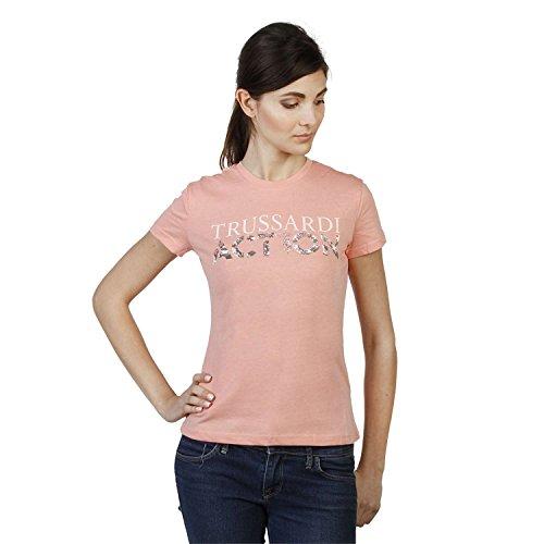 Trussardi 2bt03b t-shirt donna arancione l