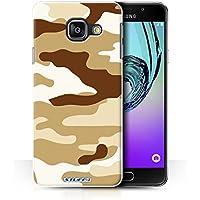 Coque de Stuff4 / Coque pour Samsung Galaxy A3 (2016) / Marron 2 Design / Armée/Camouflage Collection