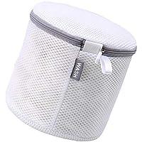 Biqwee Wäschesack mit Reißverschluss, Wäschesack für Netzwäsche, Trockner, Waschmaschine schützt Unterwäsche, Socken, Babytuch