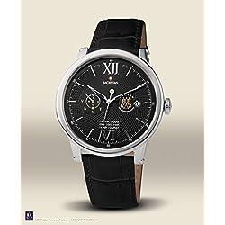 "Official Vatican Observatory Watch ""Sacristan"" - Automatic Men's Watch stahl-black"