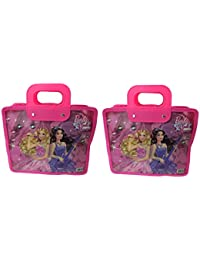 Majik Combo Of Bags Return Gift For Girls, Small Size Hand Bags For Girls Stylish, Pink, 70 Gram, Set Of 2, Pack...