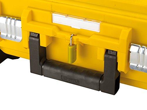 Stanley FatMax Werkzeugkoffer / Werkzeugbox (40x54x23.5cm, Werkzeugaufbewahrung mit Trolley und Teleskophandgriff, für Werkzeuge und Zubehör, fiberglasverstärkte Akkordeonstruktur) FMST1-72383 - 3