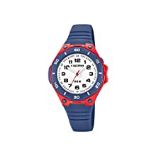 Calypso Watches Unisex Erwachsene Analog Quarz Uhr mit Plastik Armband K5758/1