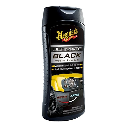 Meguiar's G15812EU Ultimate Black Kunststoffpflege, 355ml