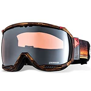 Quiksilver Men's Huble Travis Rice Goggle - Tan, One Size