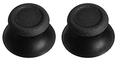 2 x PS4 Replacement Analog Sticks - Replace Worn Analogue Sticks on Your Playstation 4 Controller (DualShock 4) - 12 Month Warranty - By