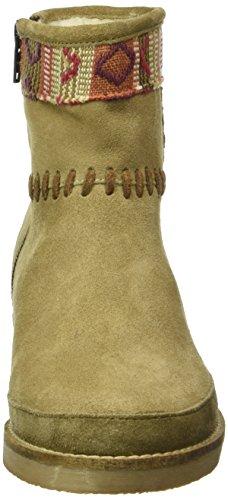 Coolway Babete, Bottes courtes avec doublure chaude femme Beige - Beige (Bege)