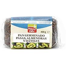 Pan especial de trigo germinado con uvas pasas, almendras y dátiles - La Finestra Sul