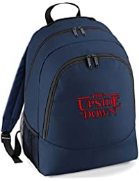 New Embroidered The Upside Down Rucksack Backpack Stranger things Netflix