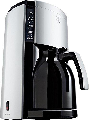 Melitta 322458 Macchina per caffè M659-020304,materiale plastico, colore: Argento/Nero