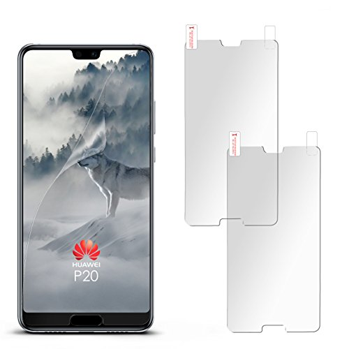 2X Huawei P20 | Schutzfolie Matt Display Schutz [Anti-Reflex] Screen Protector Fingerprint Handy-Folie Matte Displayschutz-Folie für Huawei P20 Displayfolie
