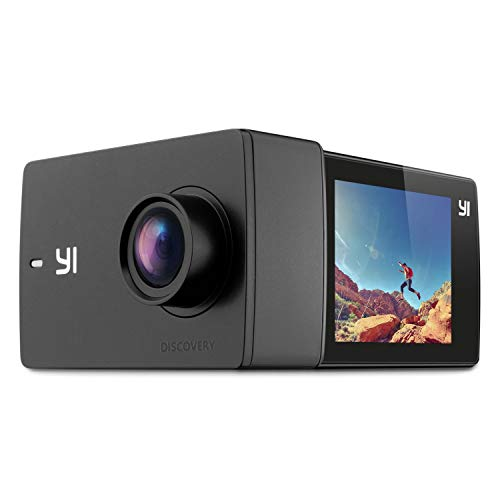 "YI Discovery 4K Action Kamera WiFi Camera Sports Cam 2.0\"" LCD Touchscreen 150° Weitwinkel Sony Sensor mit Batterie"