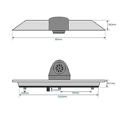Bremsleuchten-Rckfahrkamera-mit-Nachtsicht-fr-Ford-Transit-ab-Bj-2014-13-Sony-CCD-Sensor-NTSC-700-TV-Linien-0Lux-IP68-9-IR-LEDs-inkl-15m-Anschlusskabel