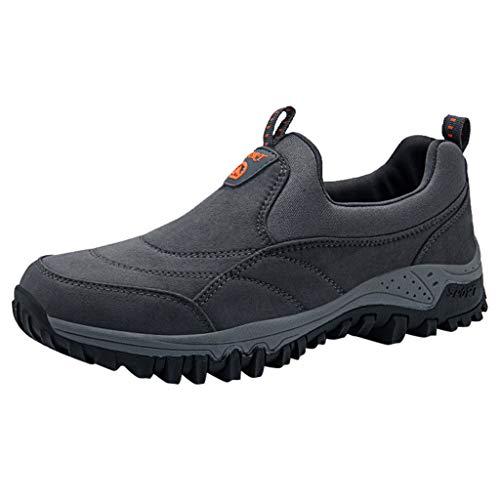 Scarpe Trail Running Scarpe Nuove Scarpe Mesh Scarpe Sportive per Il Tempo Libero Sono Traspiranti per Gli Uomini delle Scarpe estive (42 EU,Grigio)