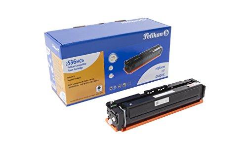 Pelikan Toner 4283801 ersetzt HP CF400X (für Drucker HP Colour LaserJet Pro M252DW, M252n) schwarz