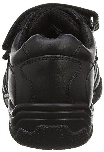 Term Jungen Chivers Double Velcro Sneaker Schwarz (Schwarz)