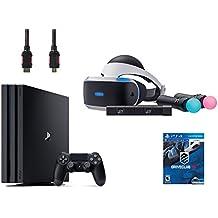 PlayStation VR Start Bundle 5 Items:VR Headset,Move Controller,PlayStation Camera Motion Sensor,PlayStation 4 Pro 1TB,VR Game Disc PSVR DriveClub(Version US, Importée)