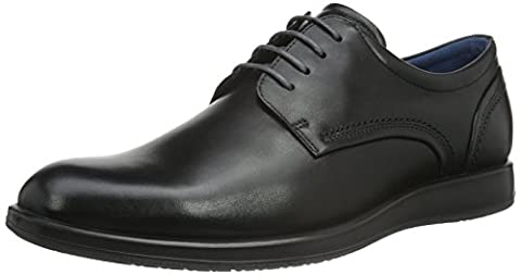 Ecco ECCO JARED, Derby homme - Noir (Black 01001) -