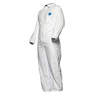 DuPont Tyvek 500ndustry, Chemikalienschutzkleidung, KategorieII, Typ 5 und 6 , Weiß, Größe M