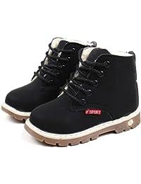 Sneakers casual nere per bambini Tefamore