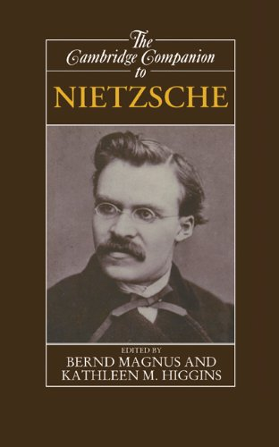 The Cambridge Companion to Nietzsche (Cambridge Companions to Philosophy) (English Edition)
