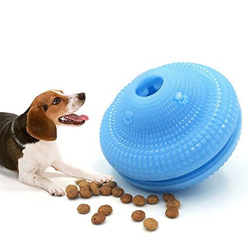 Pawaca - Dispensador de Comida para Perros y Gatos, Juguete de Limpieza de dentición, Juguete de Limpieza de Dientes Respetuoso con el Medio Ambiente