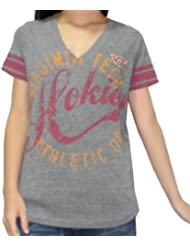 NCAA Virginia Tech Hokies femmes V-Neck T-Shirt (Vintage Look)