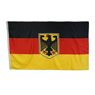 Abasonic Germany Flag with Eagle 90 x 150 cm by Abasonic