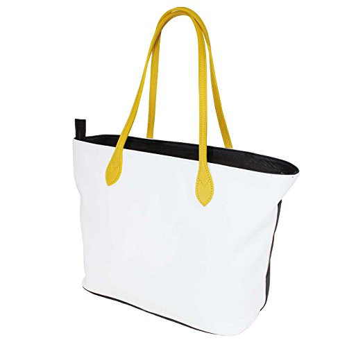 Terrida Flag shopping bag - FG941 (Giallo) Giallo