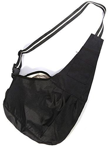 Oi Labels Dog Puppy Cat Pet Shoulder (Tote Style) Sling Bag Carrier Holder - Large (4 to 6 Kg) Red & White 3