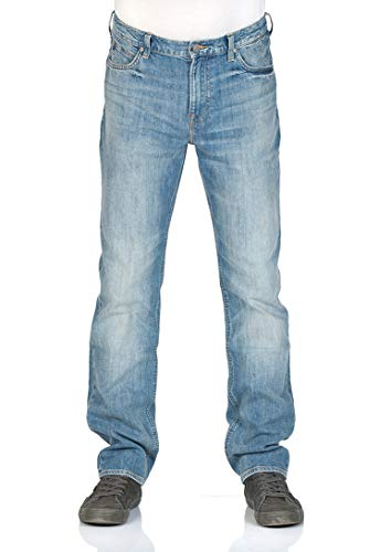 Lee Loose Fit Jeans (Lee Herren Jeans Morton Relaxed Fit - Blau - Pavement, Größe:W 30 L 34, Farbe:Pavement (CDKI))