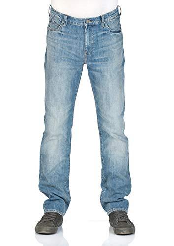 Lee Herren Jeans Morton Relaxed Fit - Blau - Pavement, Größe:W 31 L 34, Farbe:Pavement (CDKI)