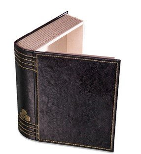 secret-storage-book-box-in-black-faux-leather-with-gold-stitching