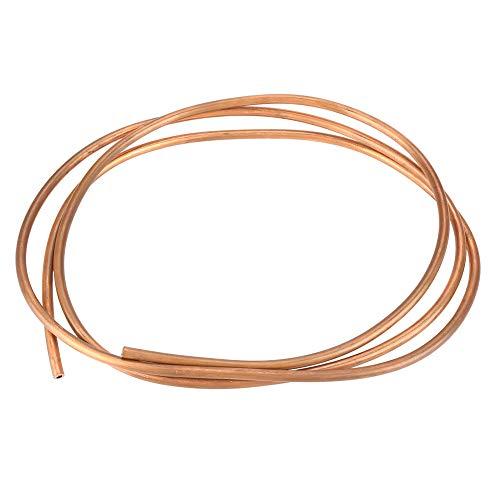 Kupferrohr 2 m Weiches Kupfer Rohr OD 6/5/4/3/2 mm x ID 4/4/3/2/1 mm für Kühlung Sanitär, Herstellung von Tauchkühler -