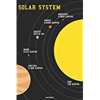 Solar System Notebook: Astronaut Journal Space Science Composition Book Nasa Solar System Planet Birthday gift