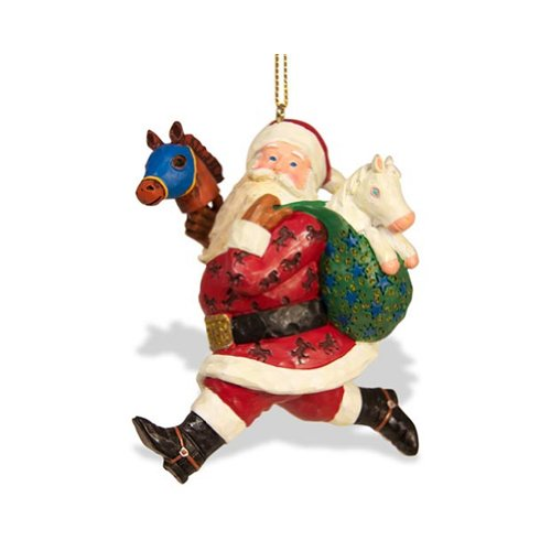 breyer-strolling-santa-ornament