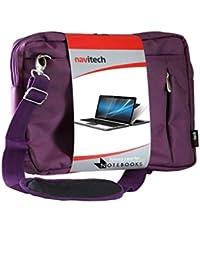 Navitech sacoche de transport besace antichocs pour Dell Latitude E6410