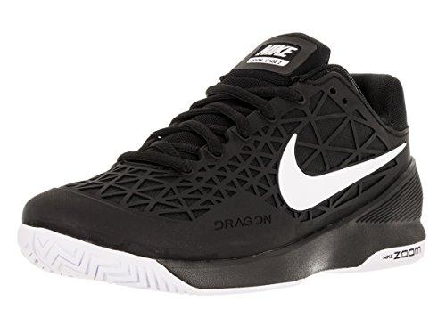 Nike Zoom Cage 2, Scarpe da tennis uomo Multicolore (Negro / Blanco  (Black/White))