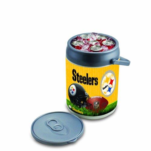 Picnic Time NFL Isolierte Dosenkühler, Unisex, 690-00-000-254-2, Pittsburgh Steelers, Einheitsgröße