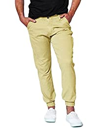 Damler Cotton Chinos Men's Slim Fit Stretch Jogger Pant Latest trend 2018