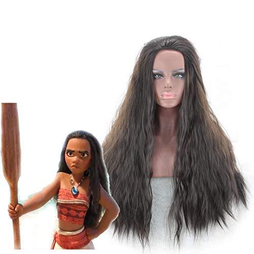 Cosplay Perücke Braunes lockiges Haar Cosplay Kostueme PerüCke Halloween Party Haar - Braunes Lockiges Haar Kostüm