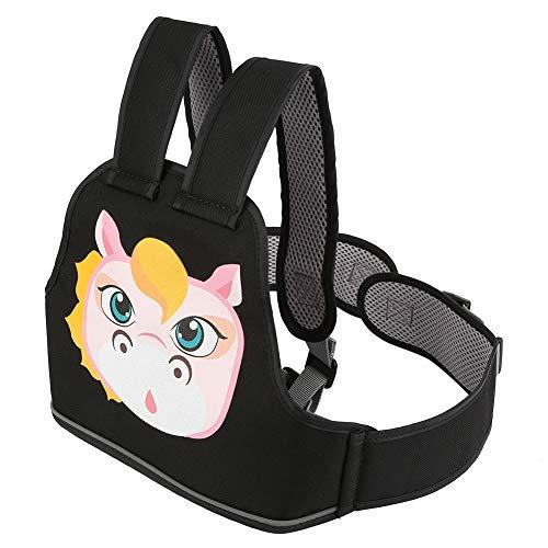 rt Hochfeste Kinder Motorrad Sicherheitsgurt Kind Elektroauto Einstellbar Sicherheitsgurt Kabelsatz für Jungen Mädchen(Pferd) ()