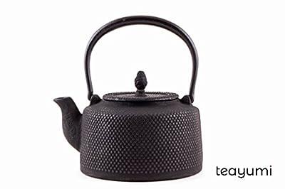 teayumi–Théière en fonte Arare 1,5l Noir