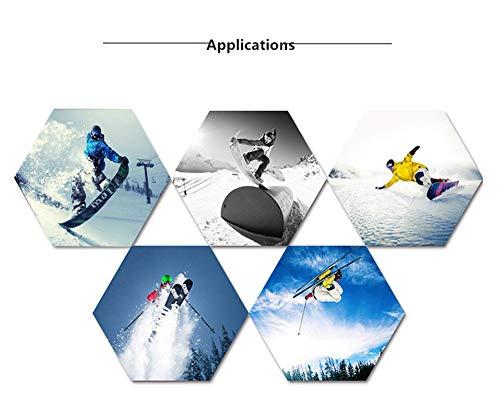APJJ Explosions Magnet Doppelschicht Anti-Nebel-Skibrille Outdoor-Skiausrüstung,A
